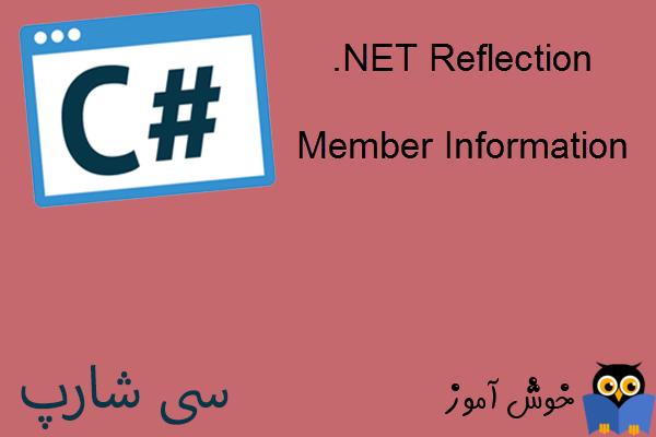 آموزش زبان #C : کار با Reflection در دات نت (Member Information)