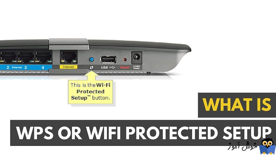 Wifi protected setup یا WPS چیست