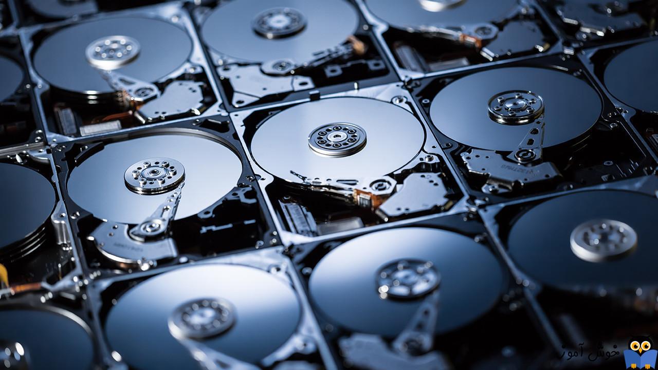 نحوه Optimize Drive Usage کردن در Storage Pool