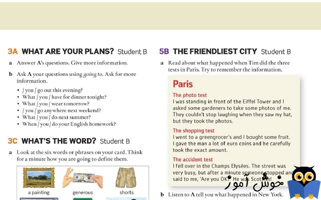 5B The friendliest city - Student B