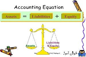 2. دوره آموزش جامع حسابداری مالی . آشنایی با معادله حسابداری