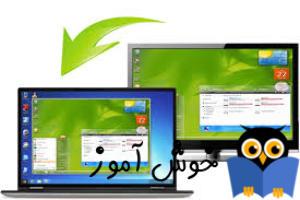 Remot DeskTop بصورت شبکه داخلي و اينترنتي