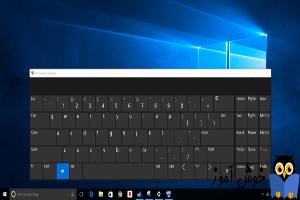 صفحه کلید مجازی در ویندوز