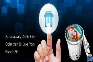 حذف خودکار فایل های Recycle bin