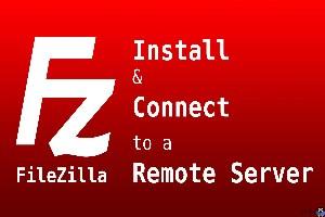 نصب Filezilla server و client