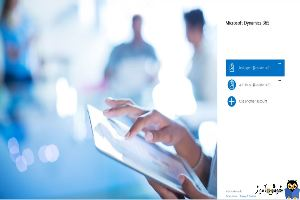 آموزش مایکروسافت CRM 2016 - لاگین به CRM