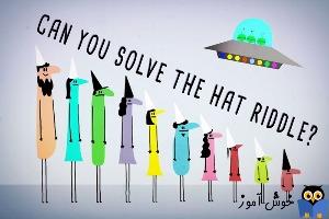 آیا می توانید معمای کلاه زندانی را حل کنید؟