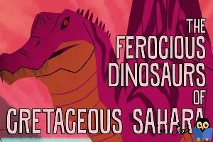 دایناسورها شکارچیان وحشی دوره زمین شناسی کرتاسه در صحرای آفریقا