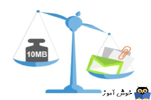 آموزش مایکروسافت exchange server 2016 - تعیین محدودیت حجم ایمیل های ارسالی و دریافتی