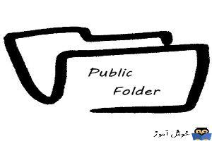 آموزش مایکروسافت exchange server 2016 - بخش Public folder - ایجاد public folder