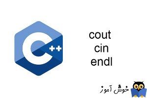 آموزش زبان ++C : مروری بر دستورات cout، cin و endl