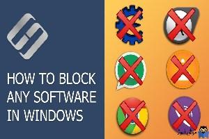 جلوگیری از اجرای برخی برنامه در ویندوز