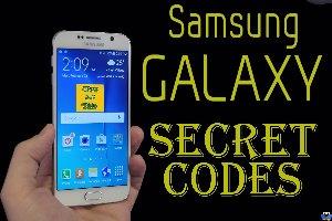 کدهای مخفی گوشی Samsung Galaxy