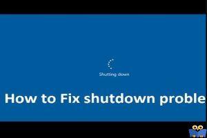 حل مشکل shutdown نشدن کامیپوتر ویندوز 8