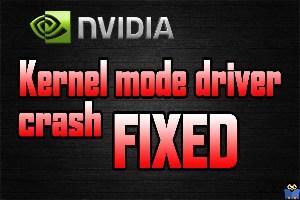 برطرف کردن ارور Nvidia Kernel Mode Driver has stopped responding
