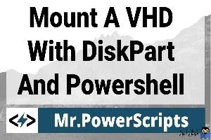mount یا Unmount کردن فایل های VHD/VHDX در ویندوز