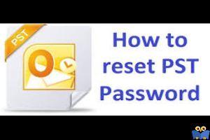 ریست کردن پسورد Outlook PST فایل