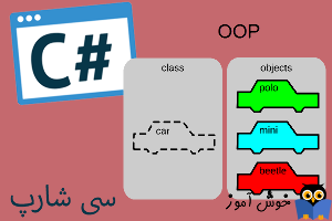 آموزش زبان #C : مقدمه برنامه نویسی شیء گرا (OOP)