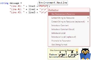 آموزش زبان #C : روشهای مختلف ایجاد خط جدید در سی شارپ