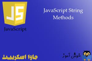 آموزش جاوا اسکریپت : متدهای کار با رشته ها (JavaScriptString Methods)