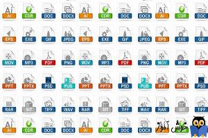 یادگیری مهارتهای کامپیوتری: پسوند فایل چیست و چه کاربردی دارد؟