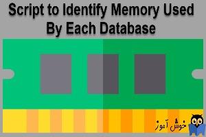 مشاهده میزان مصرف RAM هر دیتابیس در SQL Server