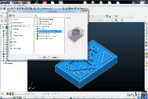 دوره آموزشی نرم افزار Powermill - آموزش استراتژی Feature Set Area Clearance - بخش اول