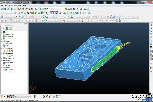 دوره آموزشی نرم افزار Powermill - آموزش مایل تراشی و حفره تراشی با استفاده از طرح دو بعدی