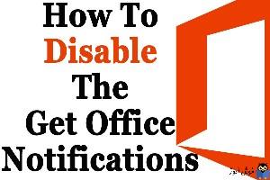 غیرفعال کردن اعلان Updates for Office are ready to be installed در آفیس