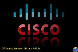 تفاوت پروتکل های ISL و 802.1q