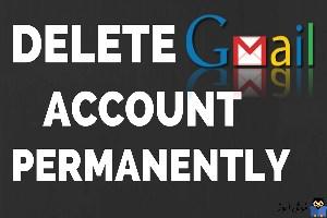 نحوه حذف اکانت Gmail