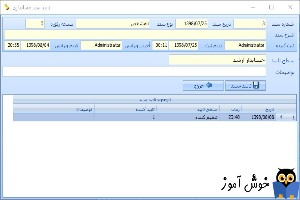 تایید سند حسابداری