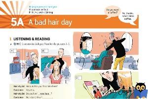 5A A bad hair day
