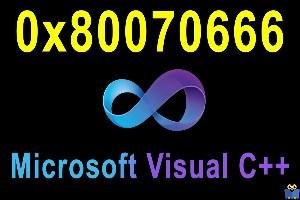 ارور 0x80070666 هنگام نصب Microsoft Visual C++ 2017,2015,2019 در ویندوز