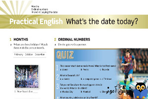 Practical English: What is the date today
