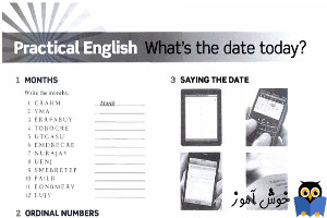 Workbook: Practical English, What is the date today