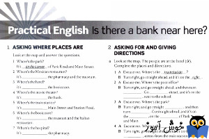 Workbook: Practical English: Is there a bank near here