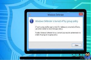 رفع ارور This app is turned off by Group Policy در ویندوز