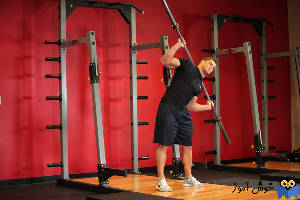 حرکت Barbell Side Bend
