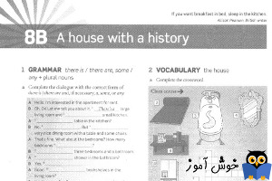 Workbook: 8B a house with a history