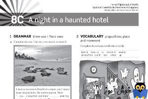 Workbook: 8C a night in a haunted hotel