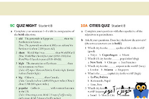 9C Quiz night - Student B