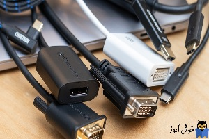 رفع مشکل کار نکردن مبدل USB به HDMI