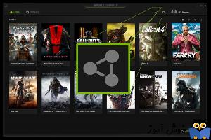 نحوه اضافه کردن بازی به Nvidia GeForce Experience