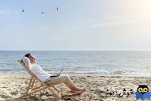 یادگیری انگلیسی آمریکایی-مکالمات و دیالوگ های روزمره- مکالمه 6-3: رفتن به تعطیلات(Dialogue 3-6: Taking a Vacation)