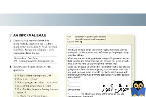 3 An informal Email