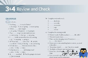 Review and Check 3 & 4