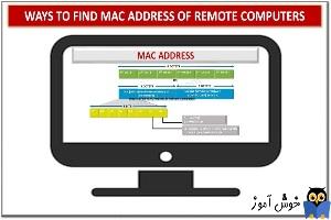 نحوه یافتن MAC Address یک سیستم ویندوزی در شبکه