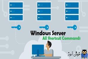 دستورات Shortcut برای باز کردن کنسول های msc در ویندوز سرور