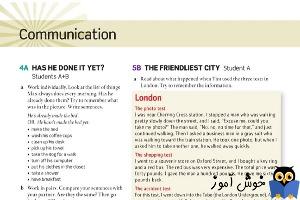 5B The friendliest city - Student A